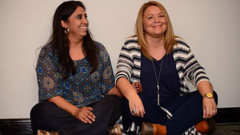 Mariela Caballero e Ileana Mateo se presentan este viernes en el Dante.