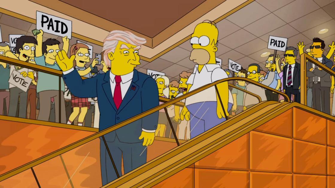 La familia de Springfield se las sabe todas, incluso antes de que ocurran