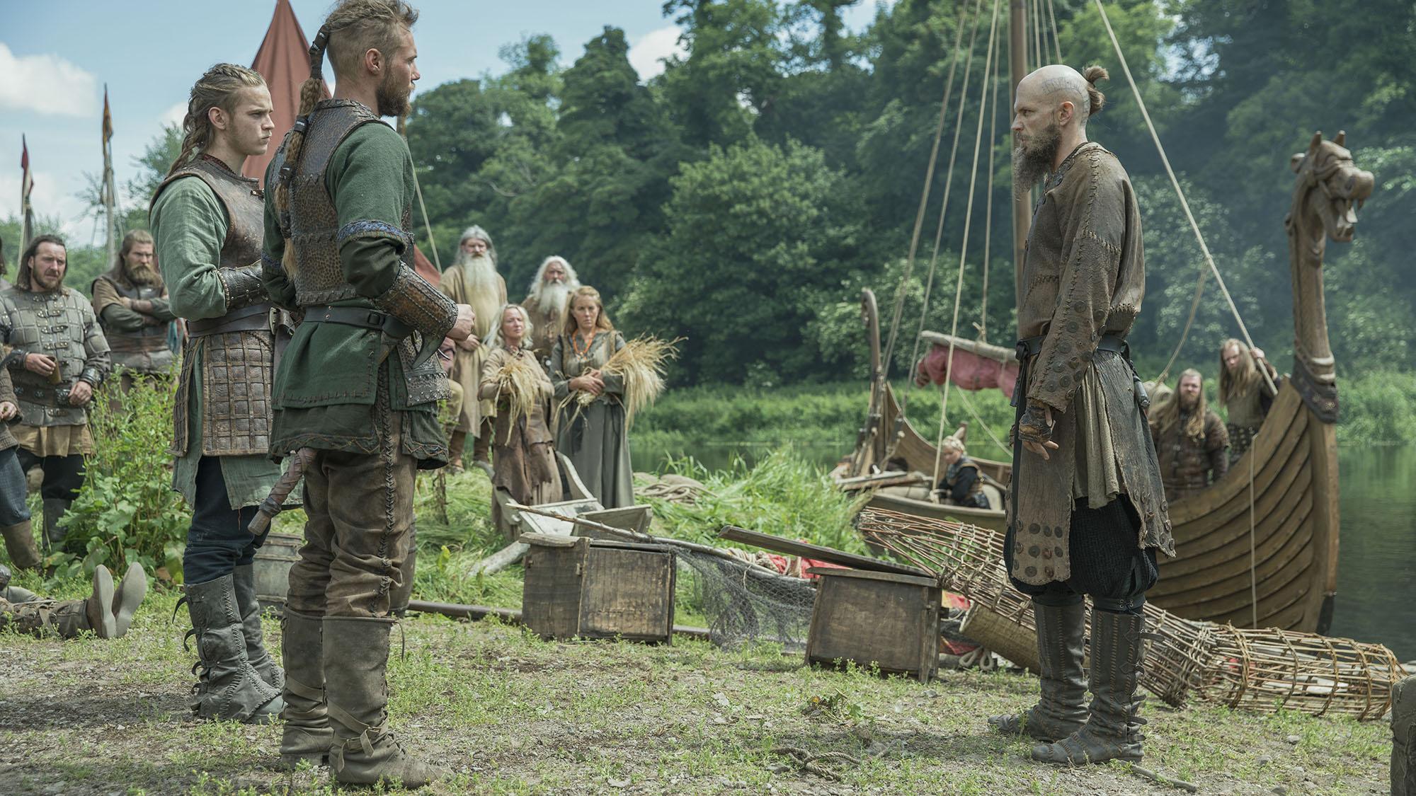 Los hijos de Ragnar estarán en el centro de la escena en la nueva Vikings.