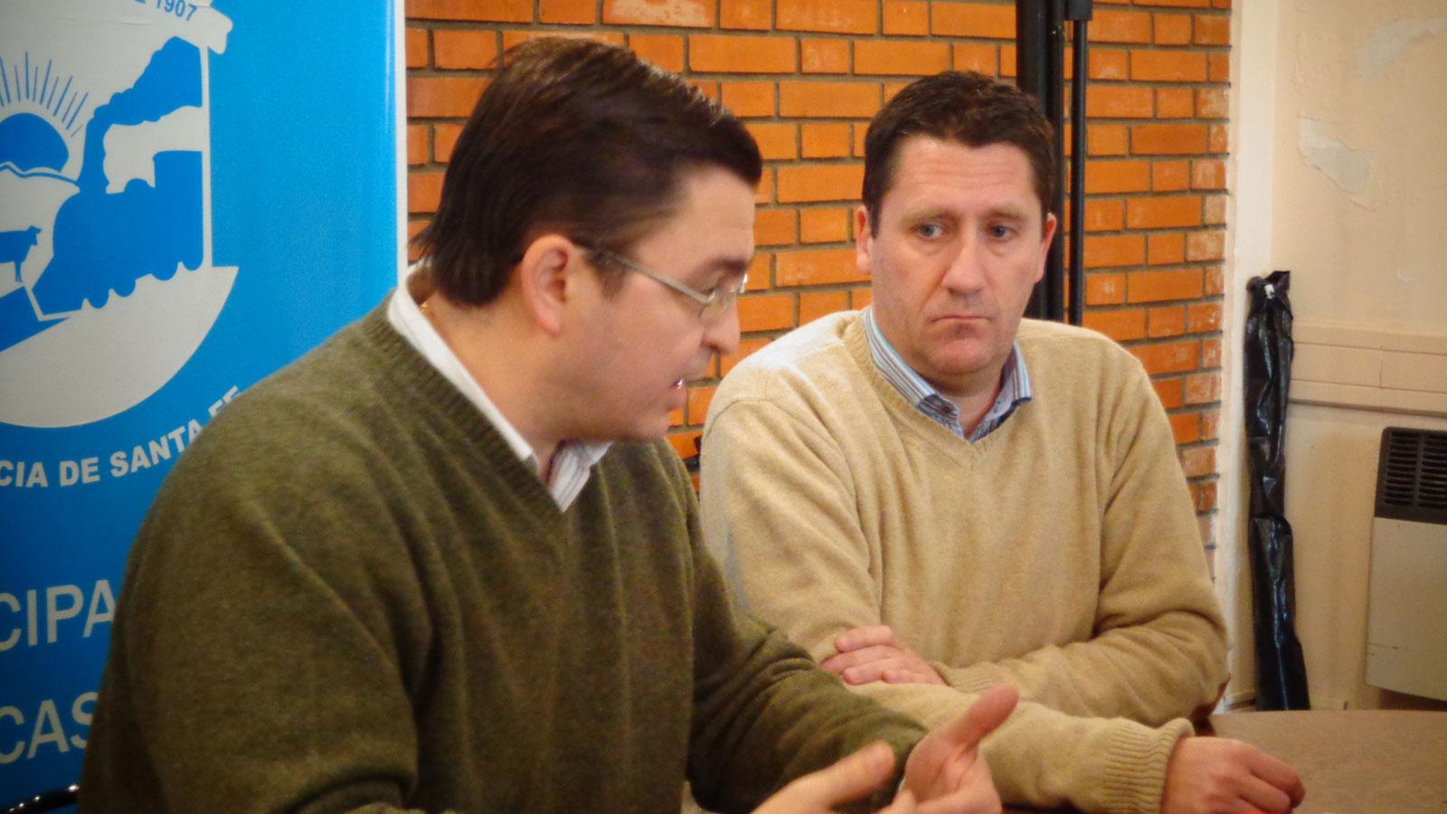 Sarasola y Censi se vincularán con especialistas de nivel internacional.
