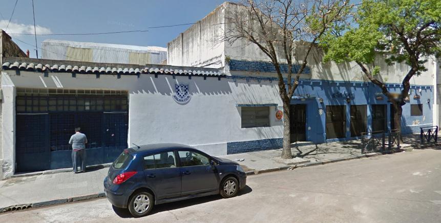 El frente del club de barrio República de la Sexta (prensa Atalaya).