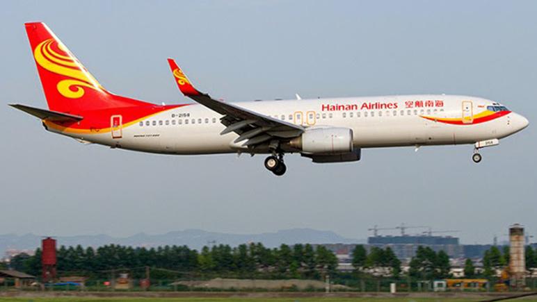 La aerolínea china realizó un trayecto transoceánico usando aceite en lugar de nafta