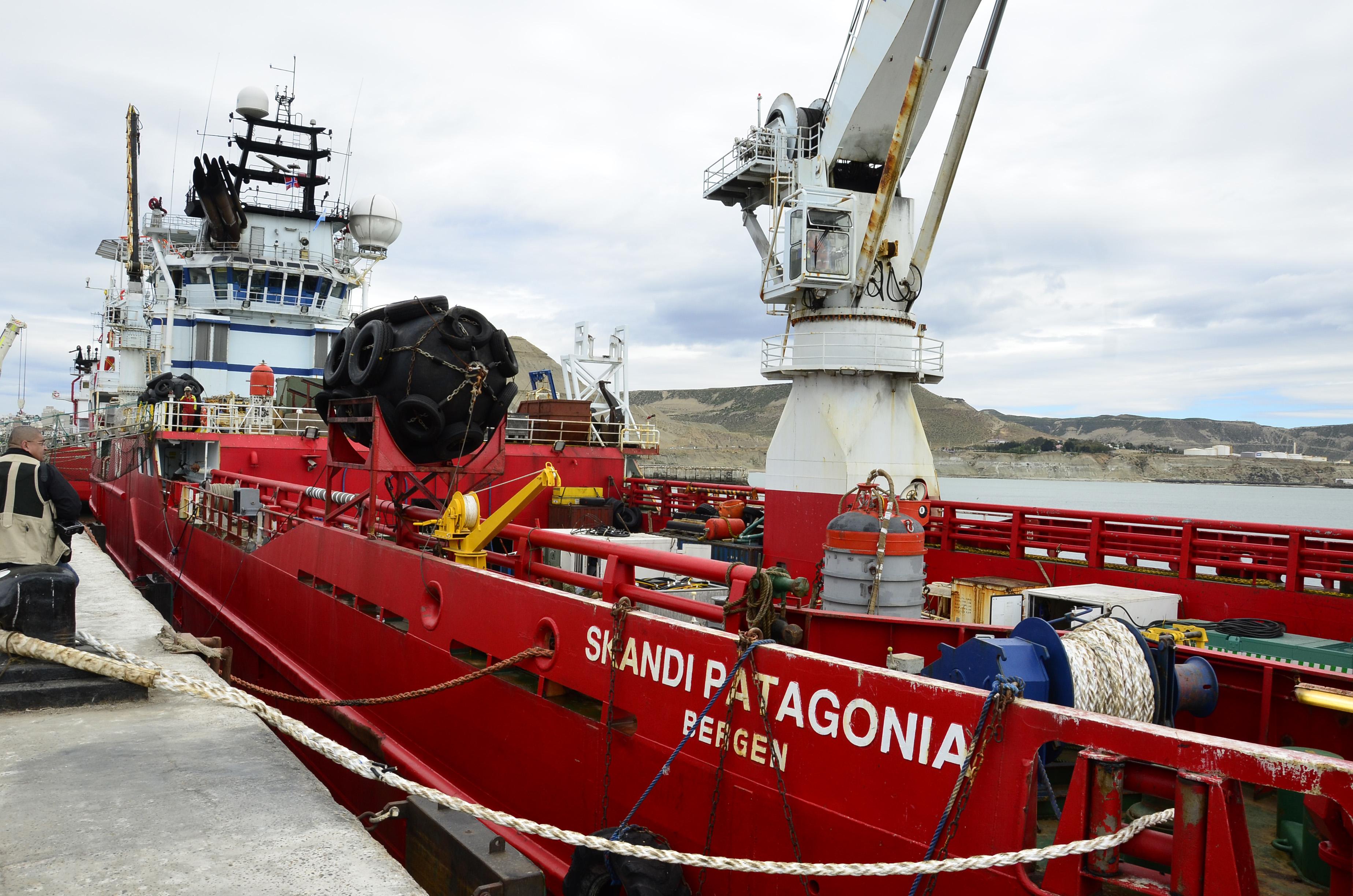 """ElSkandi Patagoniatardará """"un día y medio o dos"""" en llegar a la zona de búsqueda"""