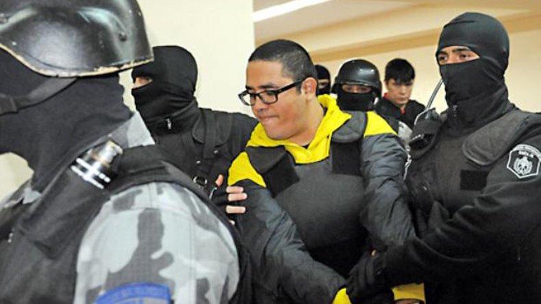 "Ariel Máximo Cantero, alias ""Guille"", actualmente detenido en el penal de Rawson."
