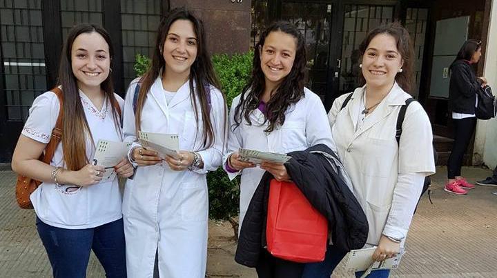 La campaña es impulsada por docentes y estudiantes de Bioquímica yde Farmacia de la UNR.