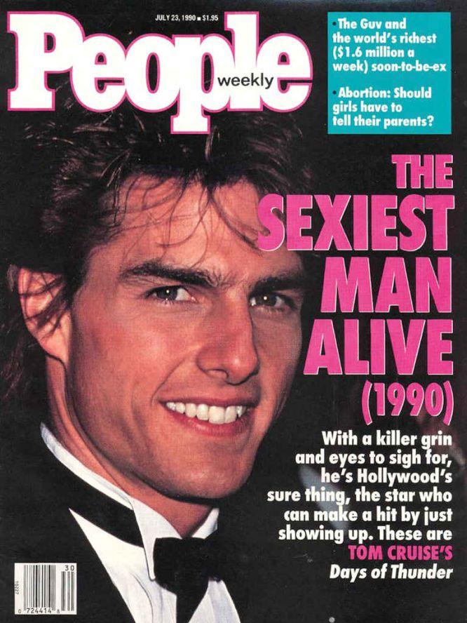 1990:Tom Cruise.