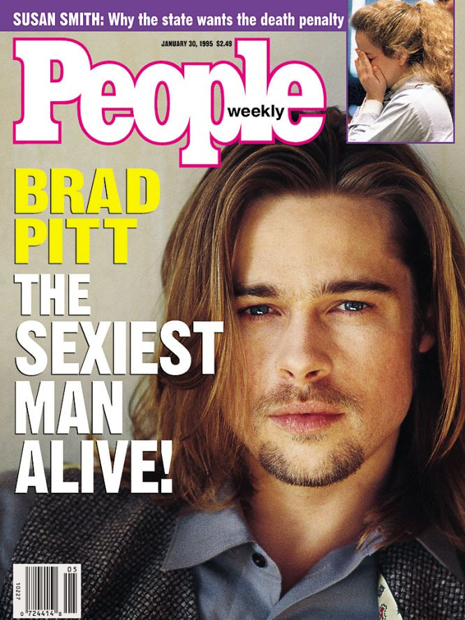 1995:Brad Pitt.