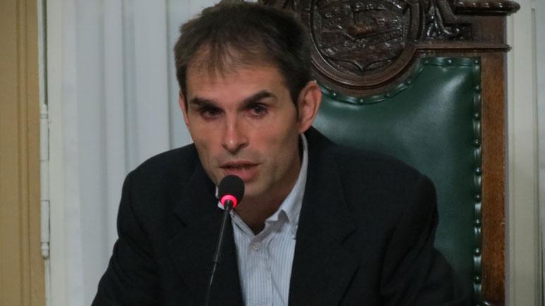 Mauricio Plancich, presidente del cuerpo legislativo local.