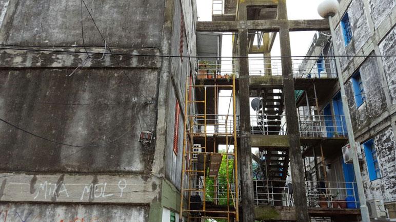 Las estructuras del Fonavi serán nuevamente reparadas.