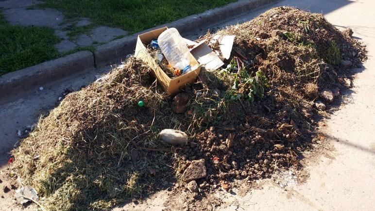 Se recomienda sacar la basura el viernes a la tarde para que la retiren el sábado.