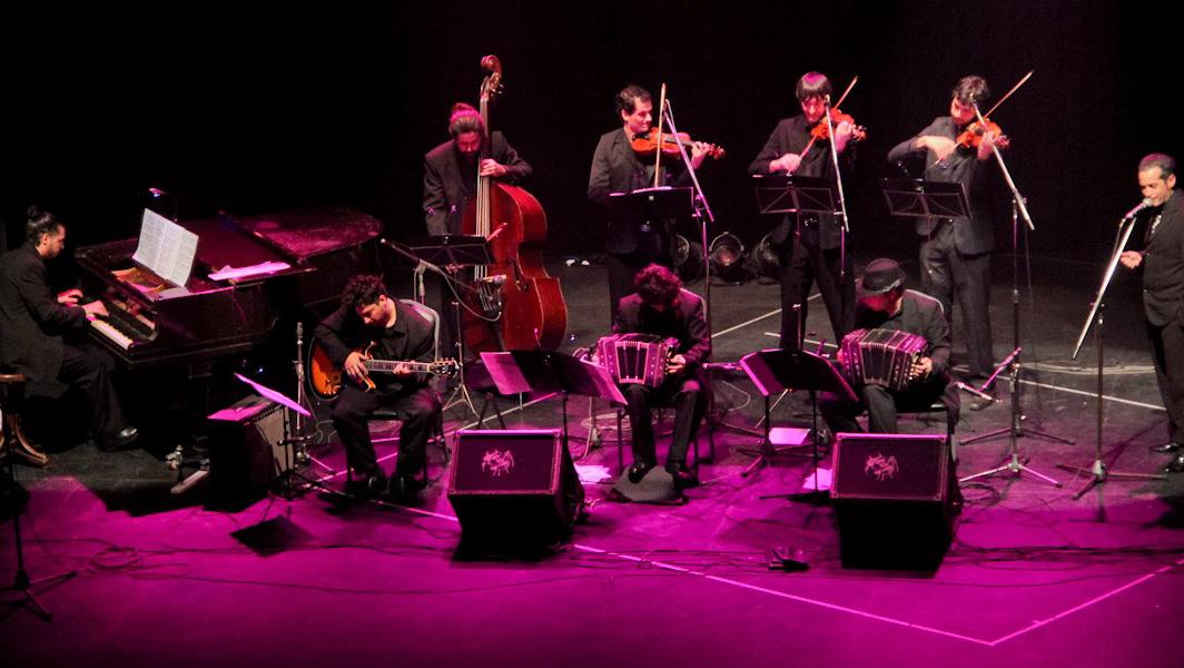 La orquesta tanguera presenta nuevos temas