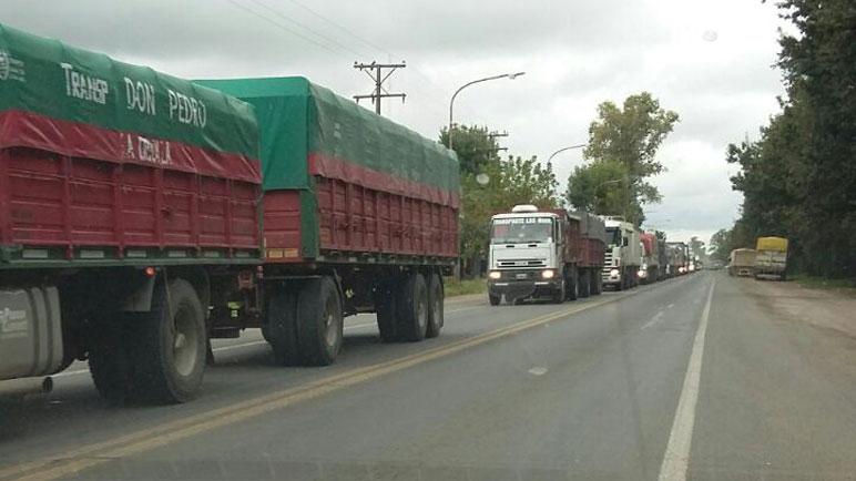La circunvalación evitará la circulación de tránsito pesado en la ruta 33.