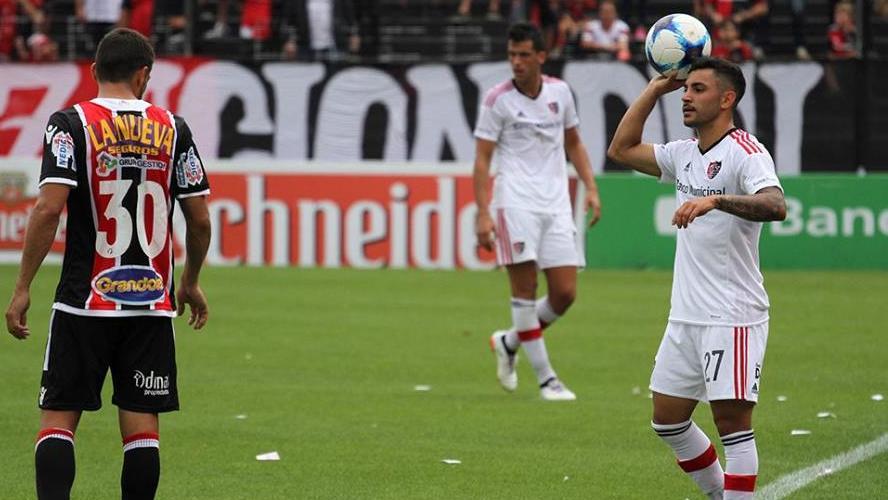 El juvenil jugó su primer partido en la máxima categoría. (Fuente: NOB)