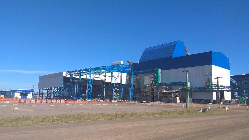 La nueva planta de acero de Gerdau en Pérez a cuya inauguración asiste el presidente Macri. (Rosarioplus)