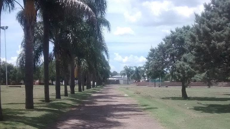 La Plaza Simoneta, un ícono del barrio Barracas.