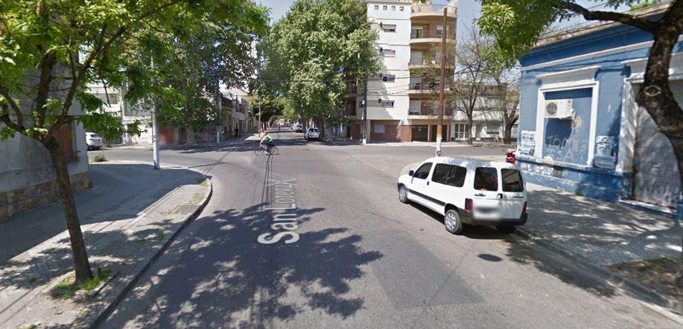 La esquina de San Lorenzo e Iriondo, donde se dio el hecho