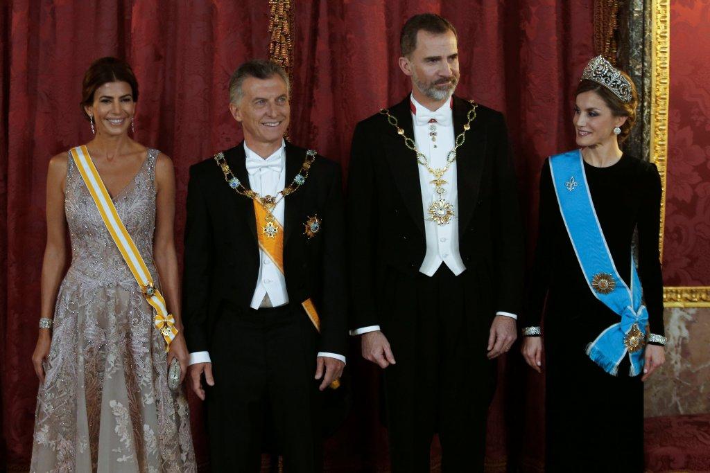 Macrijunto al rey Felipe VI de España