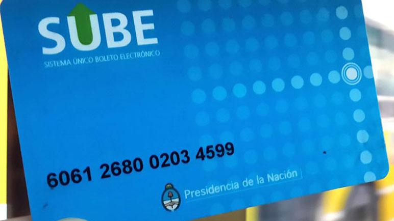 La tarjeta SUBE, por ahora, se puede obtener de forma gratuita.