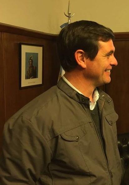 Javier Meyer, desde Las Rosas, habló de su experiencia con Blaser.