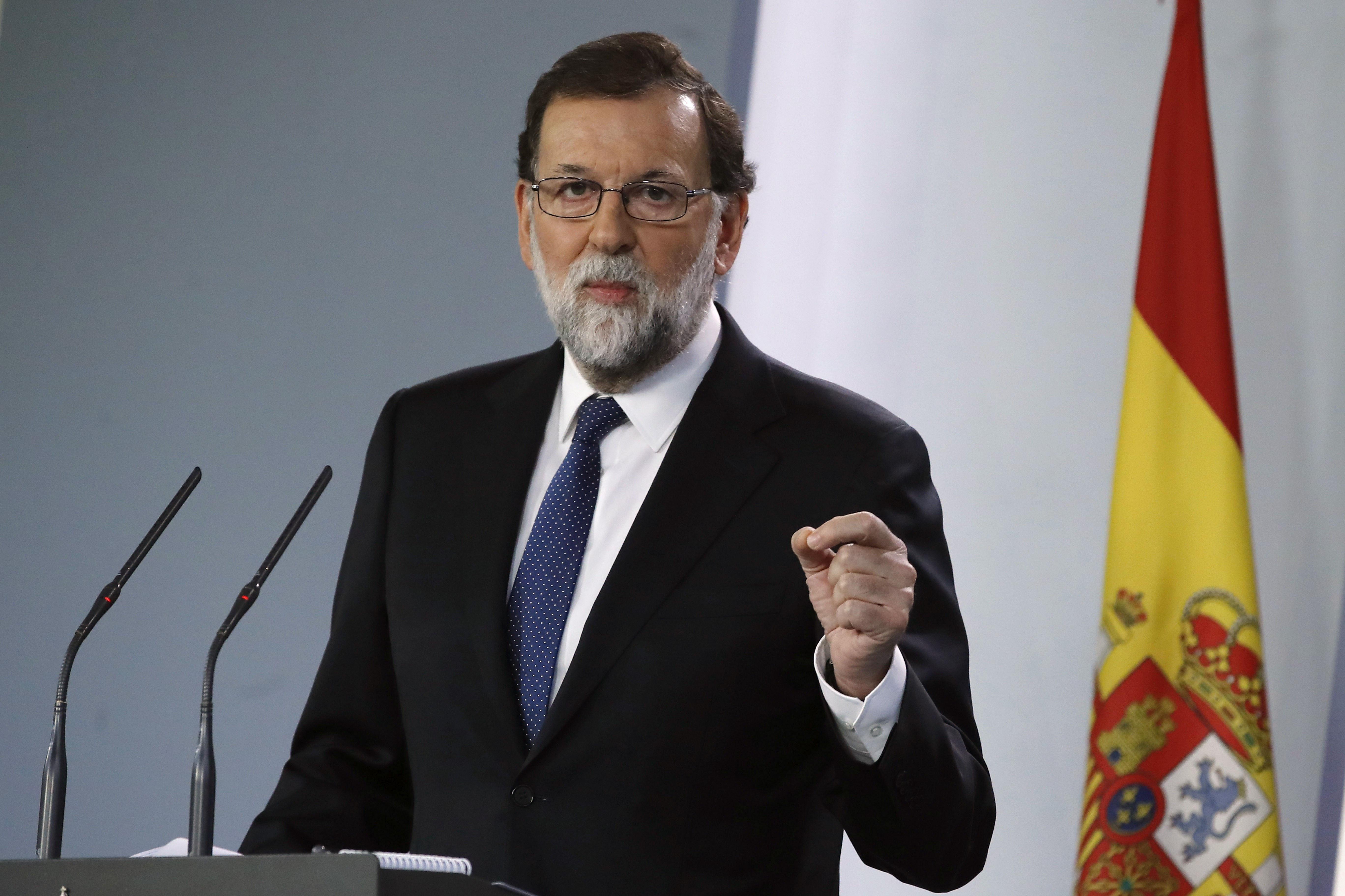 Rajoyquiere desbancar al presidente de Cataluña (EFE)