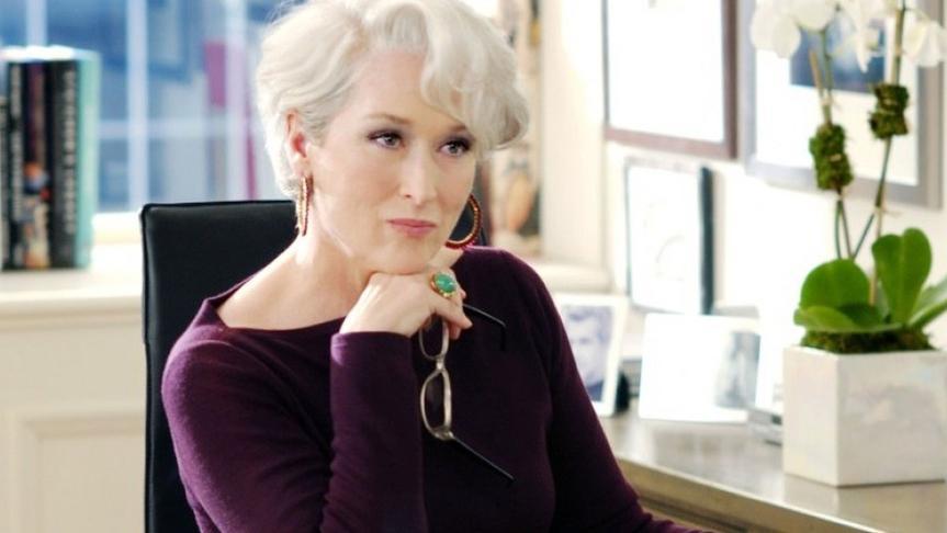 Ni Meryl Streep en El diablo viste a la moda se atrevió a tanto.