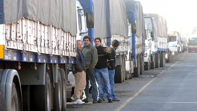 Los camioneros deberán tener ciudado a la hora de transitar.