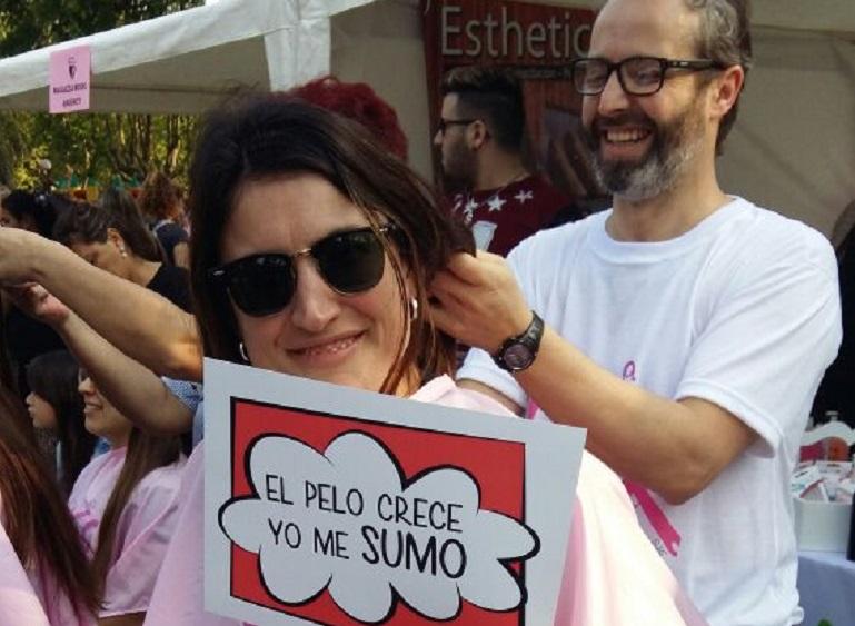 Pelucas Solidarias ya pasó por Casilda y retorna esta tarde.