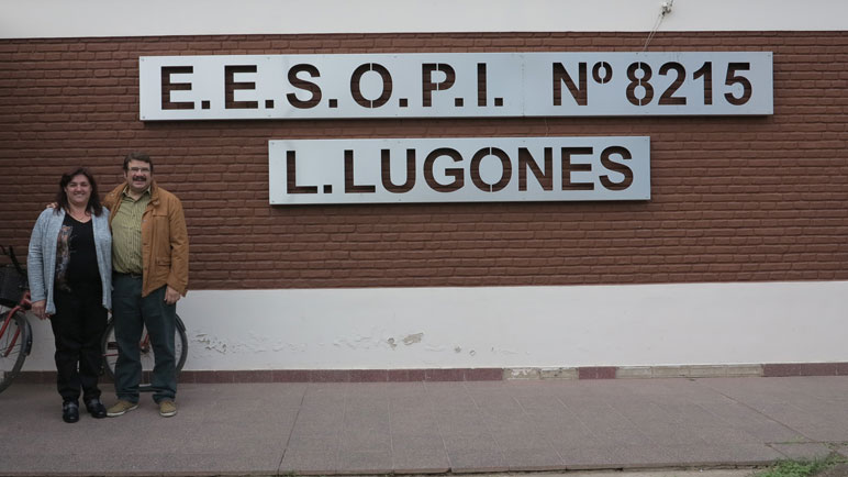 En la Escuela Lugones se hará una reparación integral del techo.