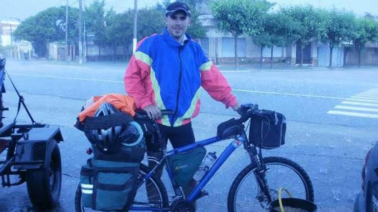 Nicolás parte el lunes desde La Quiaca y recorrerá 90 kilómetros por día.