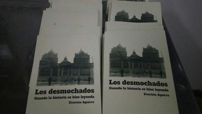 La tapa del nuevo libro de Evaristo Aguirre, dedicado a Los Desmochados.