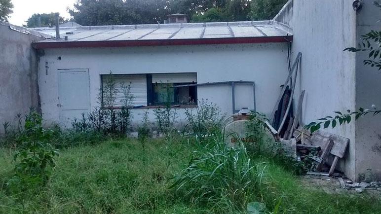 Las obras en la residencia quedaron truncas hace meses.