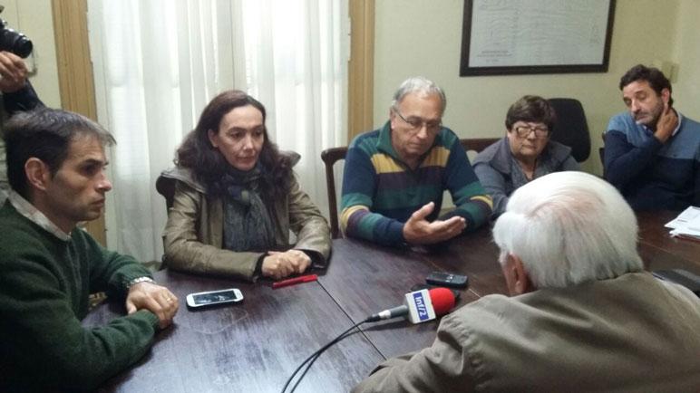En su momento, los concejales se entrevistaron los integrantes de la comisión.