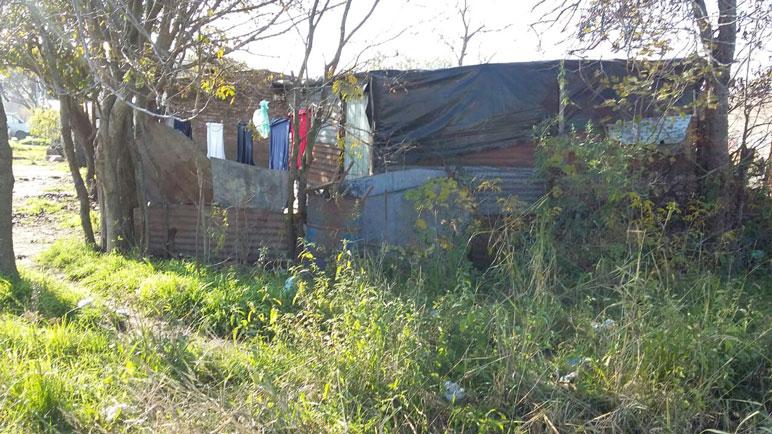 La pobreza se sufre en Nueva Roma D.