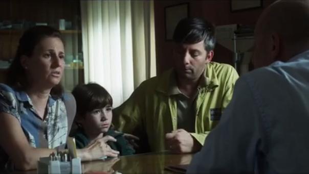 En la película sobre Messi, Schwarzsteinse interpretó a sí mismo en la reproducción de la consulta.
