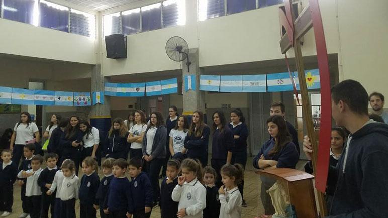 Alumnos de todas las edades participaron de los eventos del Colegio.