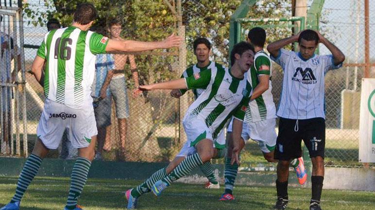 Tonarell grita un gol ante el León. Ese choque fue en la temporada 2013.