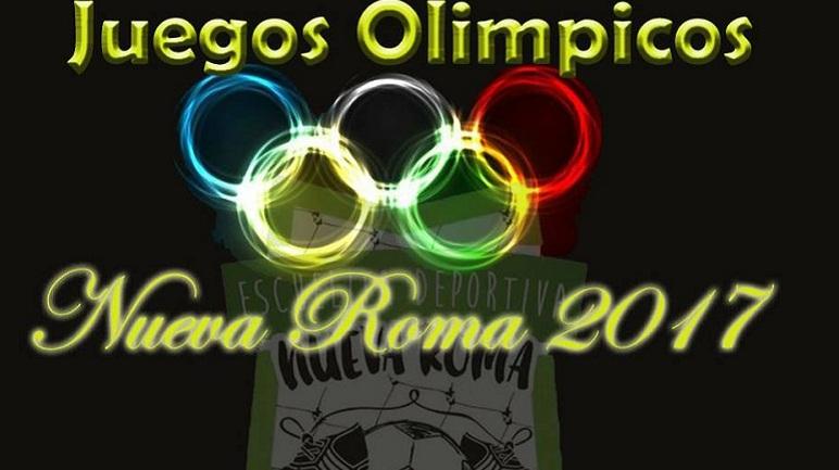 El 30 de julio se realizarán los Juegos Olímpicos en Nueva Roma.
