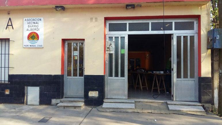 El dispensario de Alberdi será remodelado.