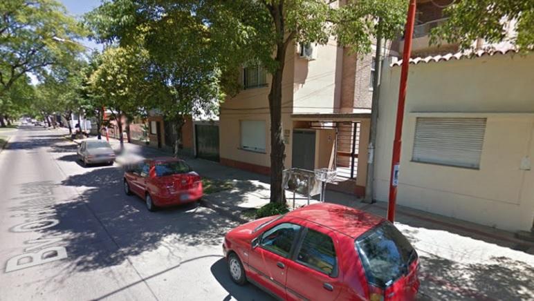 El lugar donde ocurrió el violento hecho durante la madrugada del domingo.