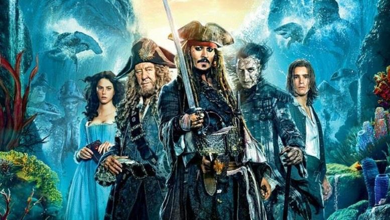 Los Piratas del Cariben te harán caminar por la borda.