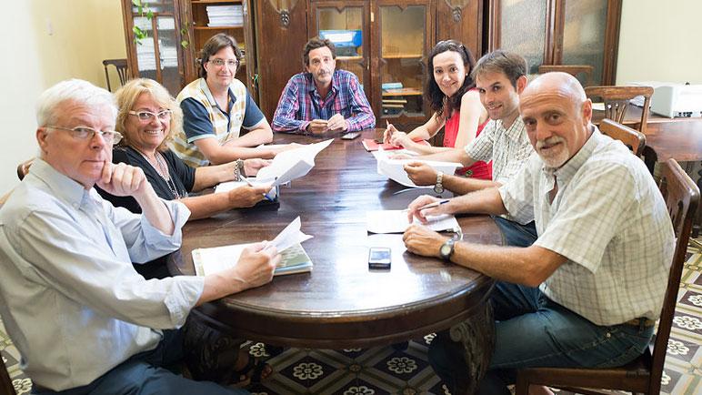 Los concejales de Casilda: Racca, Pierucci, Zanetti, Golosetti, Casati, Plancich y Sanitá.