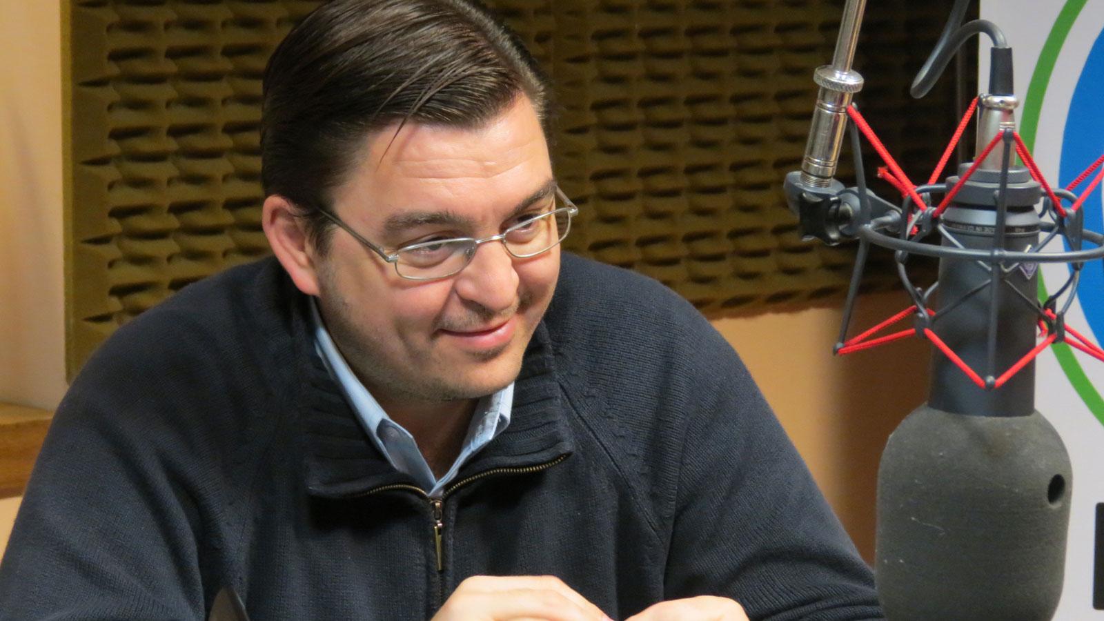 Juan Sarasola anunció la llegada del 911.