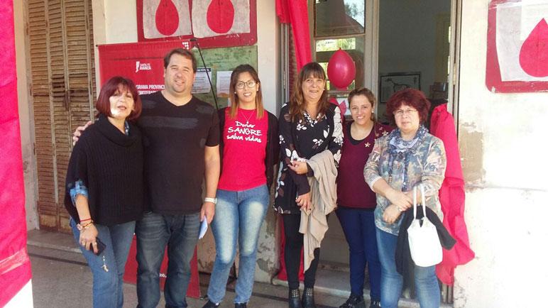 Este miércoles se realizó la campaña de donación de sangre en Veterinarias.