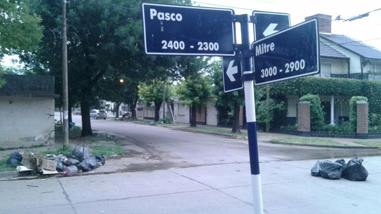 Las esquinas de la ciudad por donde debe pasar el camión recolector.
