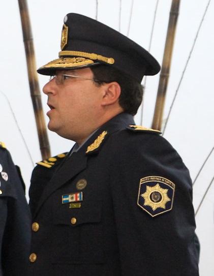 Marcelo Villanúa, jefe de la URII.
