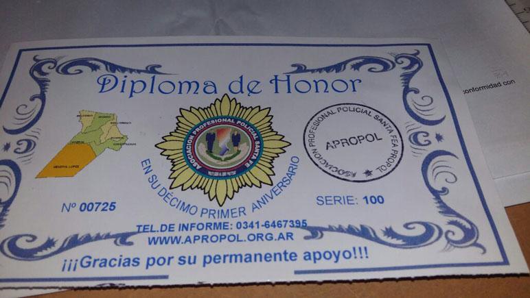 Los diplomas se ofrecen en las calles de Casilda.