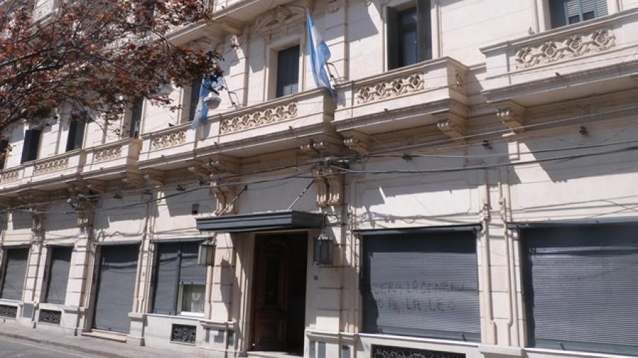 La Sede de Gobierno de la Universidad Nacional de Rosario.