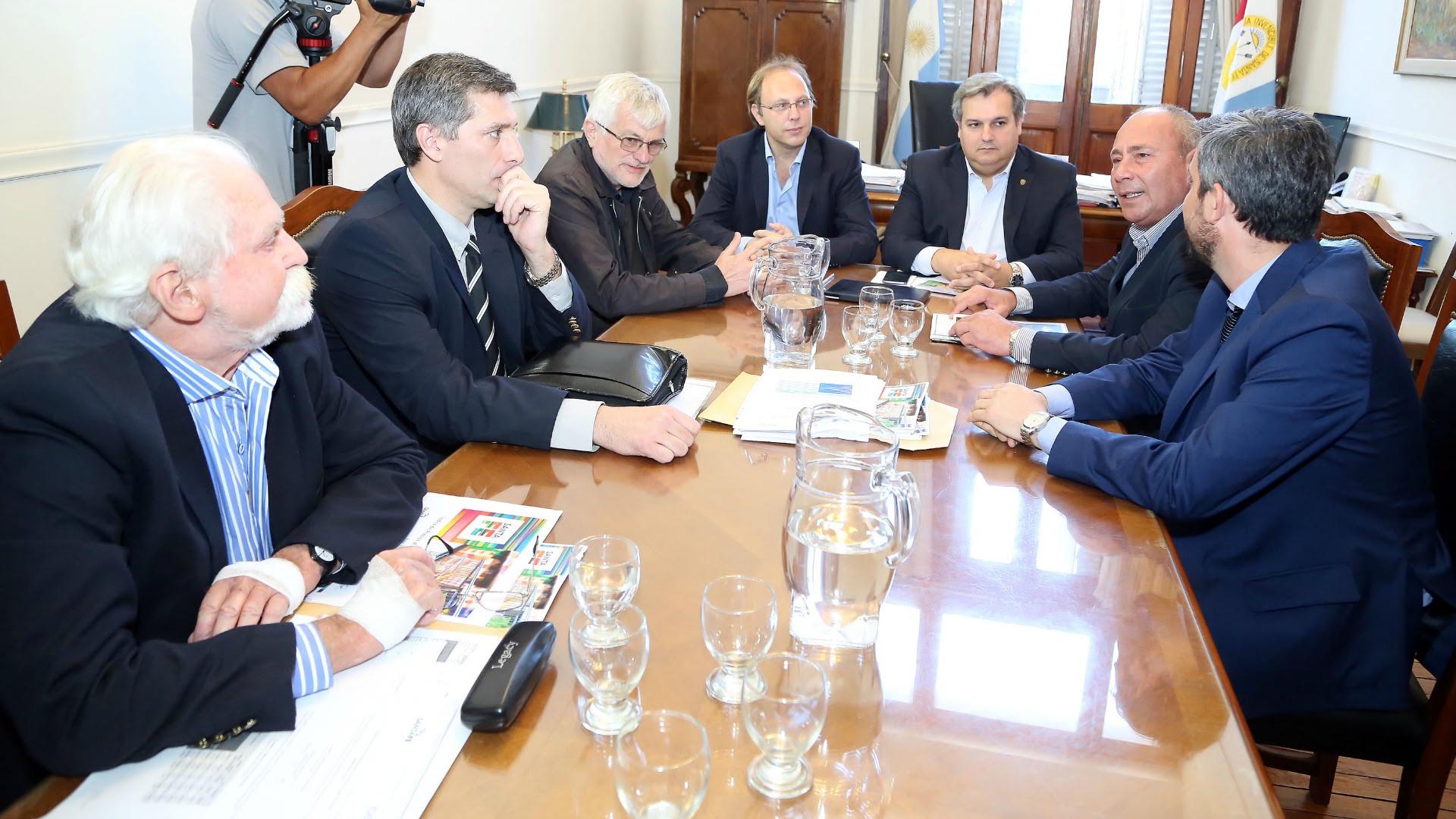 La Provincia inició el diálogo con los gremios (Prensa GSF)