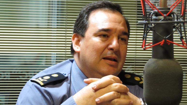 Ricardo Motta, jefe de la UR IV.