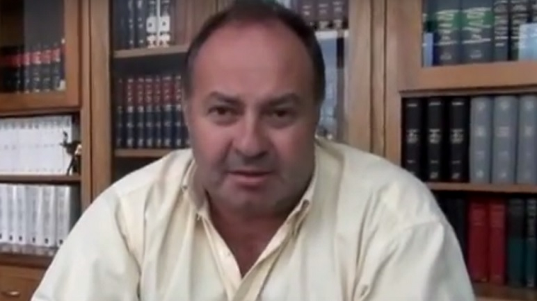 Diego Haro Martínez, delegado de los abogados casildenses, dio su testimonio.